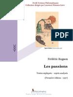 Les passions (Frédéric Rognon)