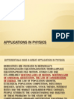 Applications in Physics