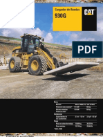 Catalogo Cargador Frontal 930g Caterpillar