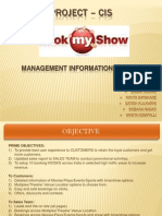 Book My Show - Computer Information System (CIS)