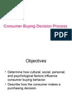 7103205 Consumer Buying Decision Process