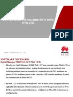 Comisionamiento Del PTN 910 Con El Web LCT Ver3