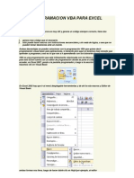 Programacion Vba Para Excel