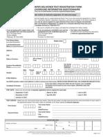 Praxis Registration 2012