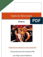 Glosario Términos Inglés Baloncesto