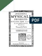 1611. Ravenscrofts Melismata