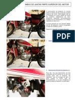 Cambio Juntas Parte Superior Del Motor SR250