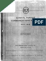 General Purpose Communications Receiver AR-88
