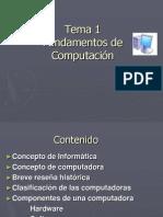 Fundamentos de Computacion