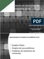 Cours 02- Représentation et résolution de problèmes en IA