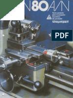 TOS MN80A Brochure