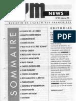 GYM NEWS N°21 Janvier 1993