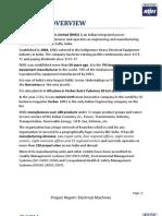 BHEL Bhopal Report hydro generator