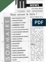 GYM NEWS N°22 Février Mars 1993