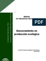 FAQ Produccion Ecologica en Andalucia