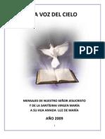 La Voz Del Cielo Mensajes 2009 Al 2012