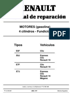 Manual de Motor Renault 1.4 Energy (Clio,r19,Etc) | Tornillo ... on vw wiring diagrams, assa abloy wiring diagrams, pontiac wiring diagrams, columbia wiring diagrams, ktm wiring diagrams, honda wiring diagrams, peterbilt wiring diagrams, plymouth wiring diagrams, bmw wiring diagrams, kenworth wiring diagrams, mitsubishi wiring diagrams, john deere wiring diagrams, freightliner wiring diagrams, international wiring diagrams, new holland wiring diagrams, evinrude wiring diagrams, mopar wiring diagrams, volvo wiring diagrams, dodge wiring schematics diagrams, terex wiring diagrams,