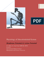 Physiology of Musculoskeletal System 2