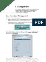 Acer eLock Management European Spanish
