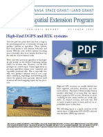 Advanced Gps--rtk and Dgps