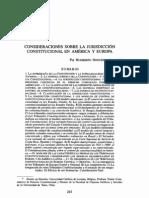 Jurisdiccion Constitucional. Nogueira