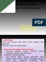 EYD - Penulisan Kata