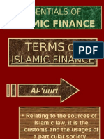 Terms of Islamic Finance