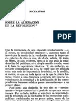 Adam Schaff - Sobre la alienación de la revolución