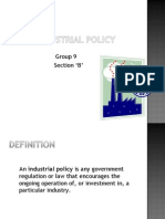 Policy 1991 pdf industrial