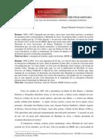 O(s) Machado(s) de Assis dos historiadores literatura e concepção de história