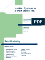 Information Systems at Wal-mart Inc.
