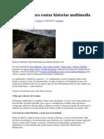 8 Consejos Para Contar Historias Multimedia
