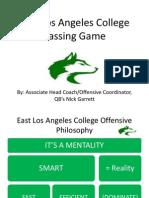 East LA College Passing Game