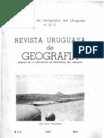 Revista uruguaya de Geografía