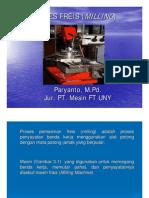 (PPt) Materi 3. Proses Kerja Freis (Milling)