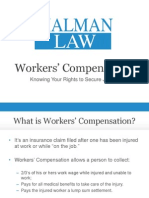 Malman Law SlideShare Workers' Comp Redesign
