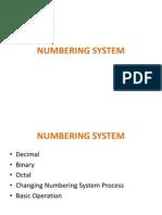 1.0 Numbering System - Lecturer