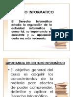 Derecho y La Informatica 28 de Agosto
