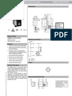 Distance measurement sensor with IO-Link interface