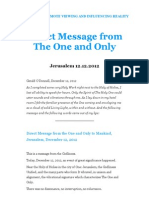 Direct Message From The ONEnes on 12-12-12