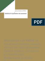 PGS3 Guidelines Quantitative Risk Assessment