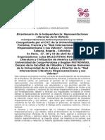 Coloquio Internacional Literatura Hispanoamericana y Sus Valores 2013