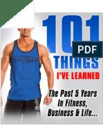101 Things I've Learned