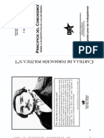Engels Principios del Comunismo - Sobre la acción política de la clase obrera