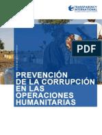 Prevencion de La Corrupcion