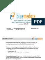 Blue Medora ITM Agent for ITDS November 2010