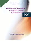 International Journal of Computer Science