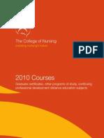 2010 Course Handbook
