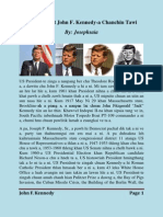 President John F. Kennedy-a chanchin tawi (Mizo Version)