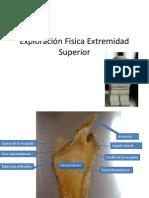 Ortopedia Exploracion Fisica de Extremidad Superior